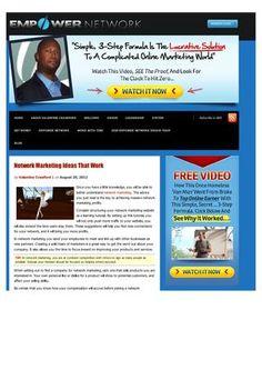 Network marketing ideas that work