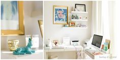 Organizing a perfect home office with The Skinny Confidential.