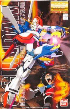 Bandai - BAN106042 1/100 God Gundam - Plastic Model