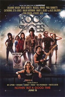 """Register to win a pair of passes to the KRBE premiere of ROCK OF AGES on Monday, June 11th at 7:30pm at the Edwards Grand Palace Theater!  """"Rock of Ages"""" tells the story of small town girl Sherrie and city boy Drew, who meet on the Sunset Strip while pursuing their Hollywood dreams. Their rock 'n' roll romance is told through the heart-pounding hits of Def Leppard, Joan Jett, Journey, Foreigner, Bon Jovi, Night Ranger, REO Speedwagon, Pat Benatar, Twisted Sister, Poison, Whitesnake, and…"""
