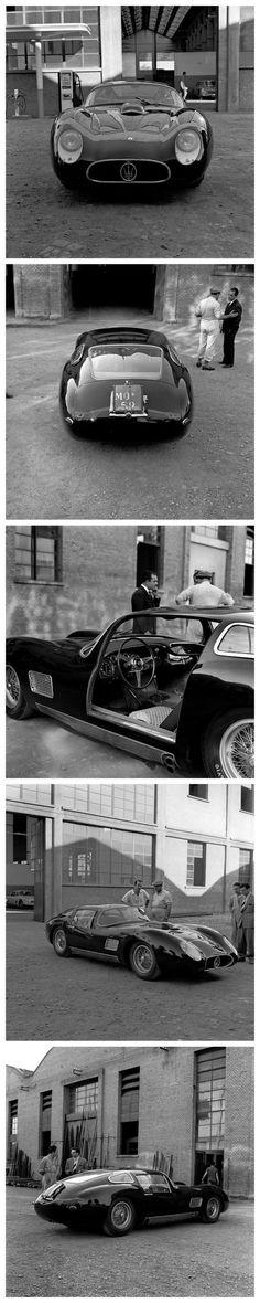 Maserati 4.5 Coupe Maserati Factory, Modena 1958 Photos by Jesse Alexander