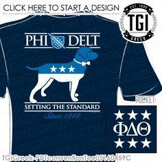 TGI Greek - Phi Delta Theta - PR - Greek Apparel #tgigreek #phideltatheta