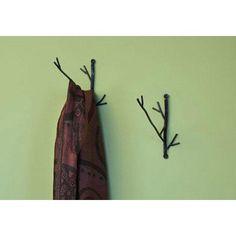 Ancient Graffiti Twig Wire Wall Hook