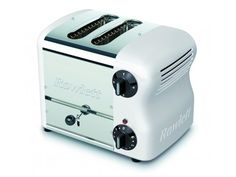 Rowlett Esprit 2 Slice Bread Toaster in White - Toasters - Electronics