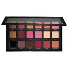 Huda Beauty-Textured Shadows Palette Rose Gold Edition - Palette de fards à paupières