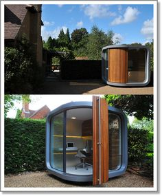 Office pods. How cool is this?!