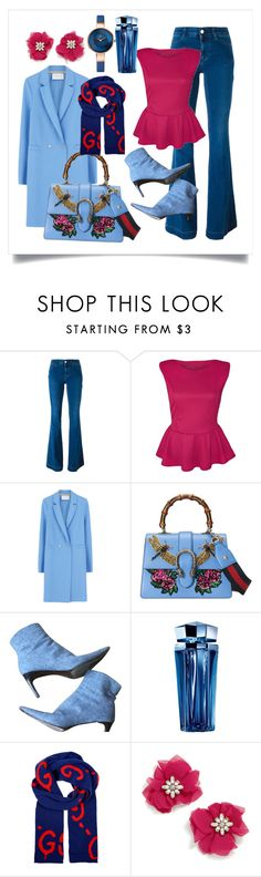 """""""Untitled #35"""" by mizzura ❤ liked on Polyvore featuring STELLA McCARTNEY, Harris Wharf London, Gucci, Ralph Lauren, Thierry Mugler and BaubleBar"""