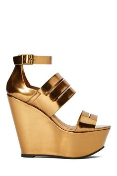 Shoe Cult Halcyon Wedge #Shoes