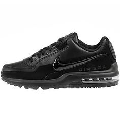 Nike Air Max Ltd 3 Mens 687977-020 All Black Athletic Running Shoes Size 10.5