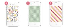 free iphone backgrounds by Blush Printables