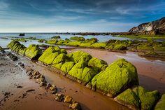 Playa de Barrika, Bizkaia.Spain.