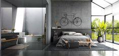 Arredamento stile industriale per loft 19