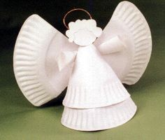 Paper plate angel crafts - ehow | how to - discover the, Angel crafts can be made using no more than a paper plate and a few additional decorations.