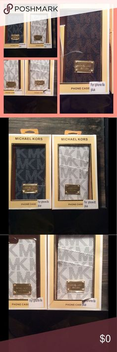 Pictures only I have all these. Read below These are all my cases. I will make a listing Thank you Teresa KORS Michael Kors Accessories Phone Cases Coque Smartphone, Coque Iphone, Michael Kors, Iphone Cases, Pictures, Frame, Cover, Shopping, Accessories
