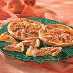 Mini Peach Struesel Tarts