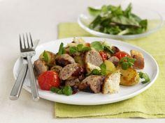 Bratwurst mit Bratkartoffeln ist ein Rezept mit frischen Zutaten aus der Kategorie Fruchtgemüse. Probieren Sie dieses und weitere Rezepte von EAT SMARTER!