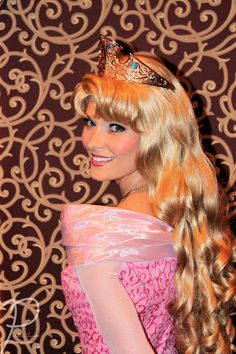 Princess Aurora, need her in blue to match her crown. DUH