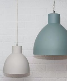 ooking for a lighting scheme to complement your dining table or kitchen unit? Alex, our classic dome pendant, works brilliantly and comes in 4 matt colours. Shop at Olive & the Fox. Blue Pendant Light, Light Teal, Pendant Lights, Kitchen Pendant Lighting, Kitchen Pendants, House Color Schemes, House Colors, Teal Kitchen, Kitchen Unit