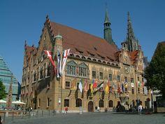 Ulm, Germany - shown: Rathaus [Cityhall]
