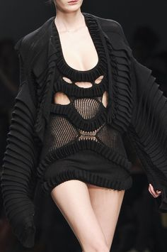 Mark Fast Fall 2011 - Details