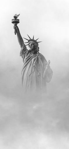 Statue of Liberty New York iPhone X Wallpapers