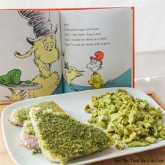 What a great #WeekdaySupper - a meal that the kids will love -Green Eggs and Ham