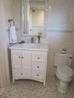 Simple With Round Bowl Sink Cheap Bathroom Vanities Types Narrow Bathroom Vanities, White Bathroom Cabinets, Bathroom Vanity Makeover, Vanity Faucets, Herringbone Marble Floor, Small Bathroom Organization, Organization Ideas, Wall Tiles Design, Cheap Bathrooms