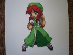Meiling by 8-BitBeadsStudio on DeviantArt