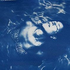 (Monochrome Blue print) Two chemicals: ammonium iron citrate and potassium ferrycyanide Experimental Photography, Cyanotype, Shades Of Blue, Monochrome, Instagram, Alternative, Interior, Life, Monochrome Painting