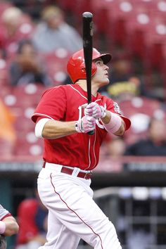 CINCINNATI, OH - MAY 13: Joey Votto #19 of the Cincinnati Reds bats in the sixth inning against the Washington Nationals at Great American Ball Park on May 13, 2012 in Cincinnati, Ohio. (Photo by Joe Robbins/Getty Images)
