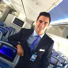 THESE RIDICULOUSLY GOOD LOOKING MALE CABIN CREW IN THEIR CREWFIES WILL MAKE TRAVEL MORE