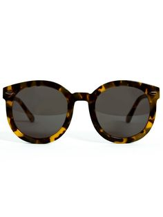 5dbc9f7b997 Karen Walker Eyewear - Super Duper Strength- Crazy Tortoise at Gargyle Karen  Walker Sunglasses