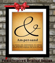 #Custom #Ampersand #Sign #Quote #Art #Ampersandquote #Quoteart #Typography #Customquote $15.00