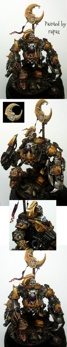Bad Moon Ork - SILVER DEMON - GD ITALY 2011  Manufacturer: Games Workshop