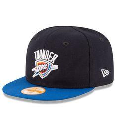 low priced 0a408 430ed Oklahoma City Thunder New Era Infant Current Logo My 1st 9FIFTY Snapback  Adjustable Hat - Navy Blue