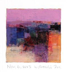 Hiroshi Matsumoto- Japanese abstract artist