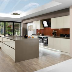 fitted kitchens ideas. Brilliant Ideas Integra Astral Creme By Magnet Creamkitchen Glosskitchen In Fitted Kitchens Ideas