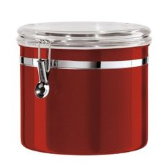 The Oggi Jumbo Stainless Kitchen Canister Has A Massive 130 Ounce Capacity  And Is Without Question