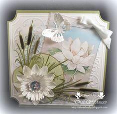 Thea's eigen gemaakte kaarten:  Goede middag allemaal, Vandaag gelukkig geen verp...