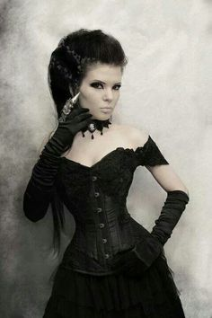 Goth model. (Model unkown) gothic goths photography. Women. SJF