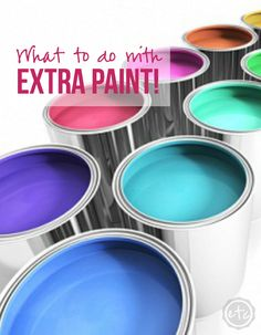 What to do with EXTRA Paint! - Happily Ever After, Etc.