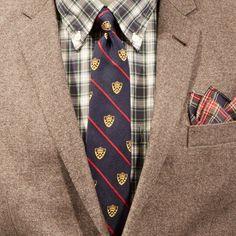 A classic Ivy League look is always in style #BBFall2014 #RedFleece