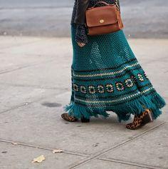 winter crochet - Where Did U Get That Crochet Skirt Outfit, Crochet Skirt Pattern, Crochet Skirts, Crochet Cardigan, Crochet Clothes, Crochet Woman, Love Crochet, Beautiful Crochet, Knit Crochet