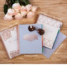ready to ship - ROSE GOLD - LifePlanner $80 Erin Condren