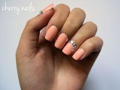 nails, nail art, manicure, diamonds, zircons, bling, salomon color, nail polish, p2