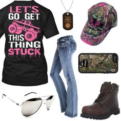 Get This Thing Stuck Outfit - Real Country Ladies