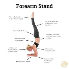 all the steps to find forearm stand ania75  asana