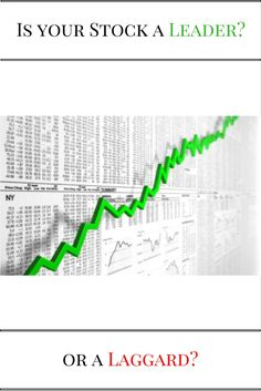 Stock Investing - Learn to Invest - Growth Investing - Stock Market - DIY Investing - Stock Market Leader - Stock Market Laggard