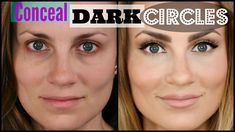 how to cover dark circles makeup tutorial tired eyes raccoon eyes awake alert beauty youtube angela lanter hello gorgeous