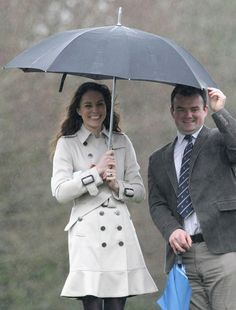 Kate and her umbrella issues...